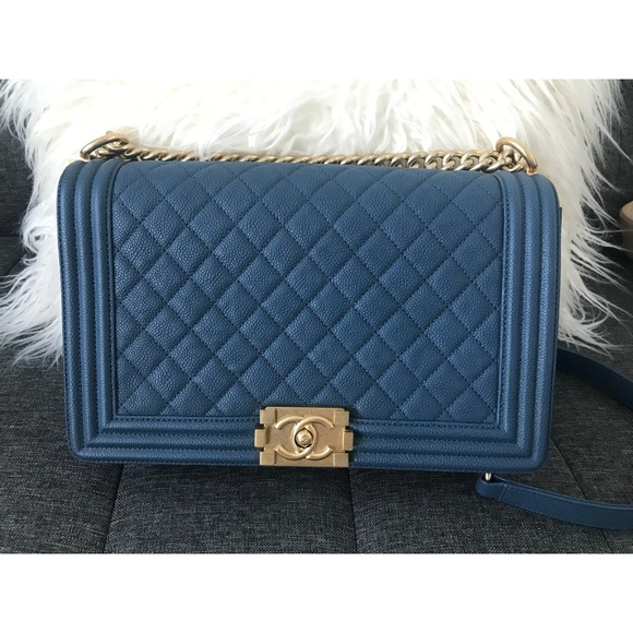 4cc529f2d7e17d CHANEL Bags | Boy Bag Caviar New Medium | Poshmark